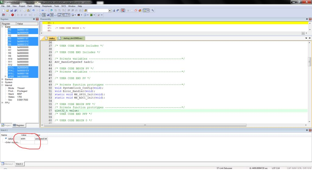 ADC in STM32 using HAL Libraries - Controllerstech com