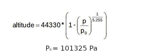 altitude calculation
